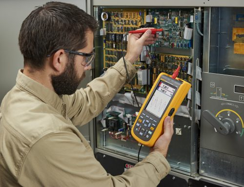 NEW Fluke 120B Series Industrial ScopeMeter® Hand-Held Oscilloscopes