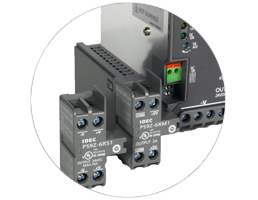 Add Wiring Terminals Run out of terminal slots? No problem! Simply add a branch terminal module to get two additional + and – slots.