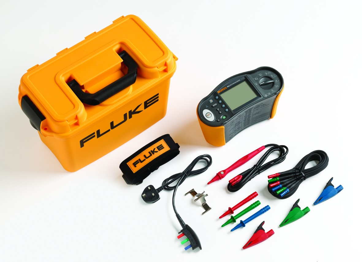 Fluke 1660 Multifunction Testers Csl Online Electrical Wiring Symbols Nz Checking Rcd Devices With A Tester