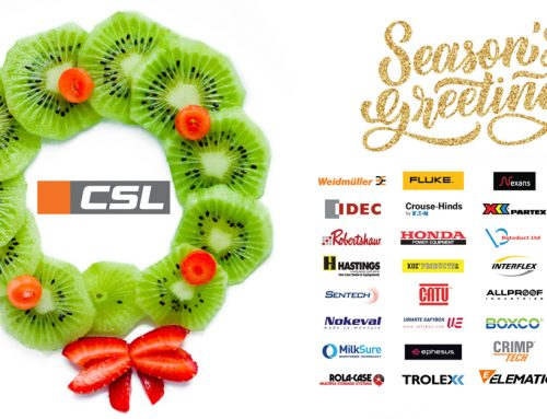 Seasons Greetings from Team CSL.