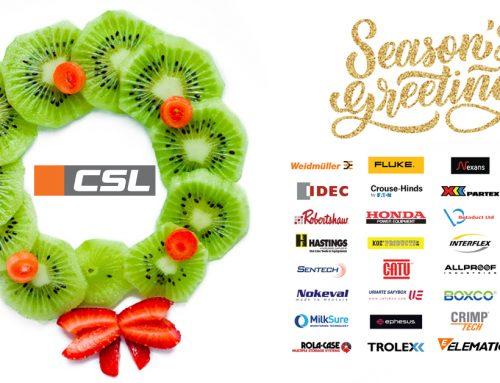 Seasons Greetings from Team CSL.